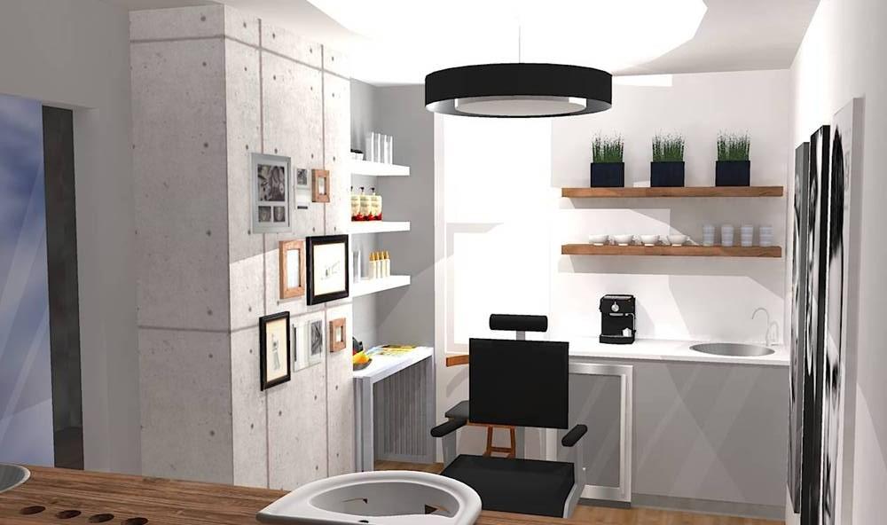 Salon De Coiffure Homme Espace Idesign Design D