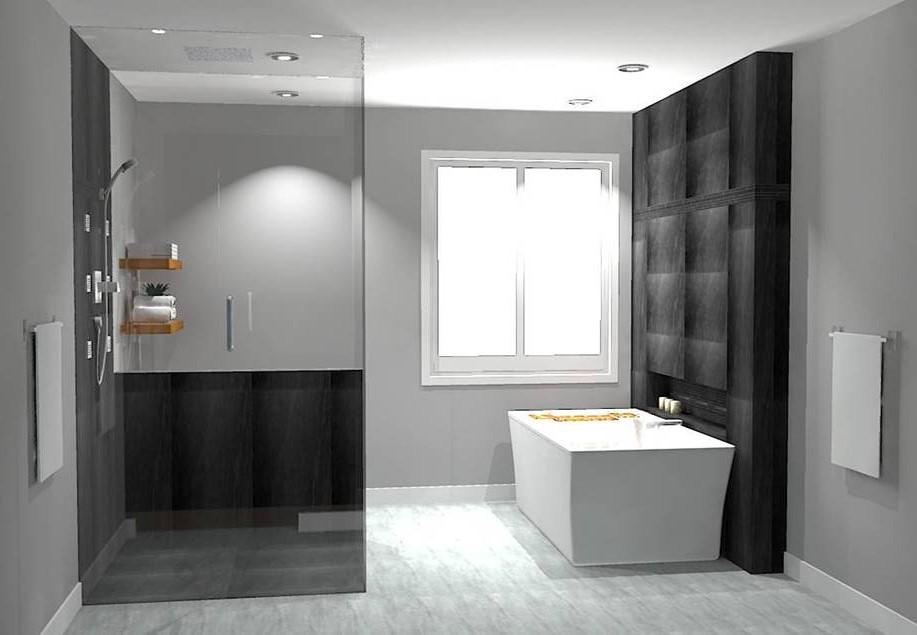 Perspective  salle de bain