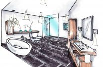 Salle de bain de prestige
